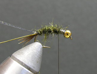 Fly Tying Evil Weevil Nymph Pattern