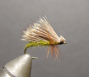 The Finished Fly Pattern