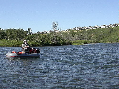Bow River Kick Boating!